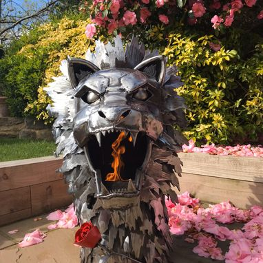 The Lion Wood Burner