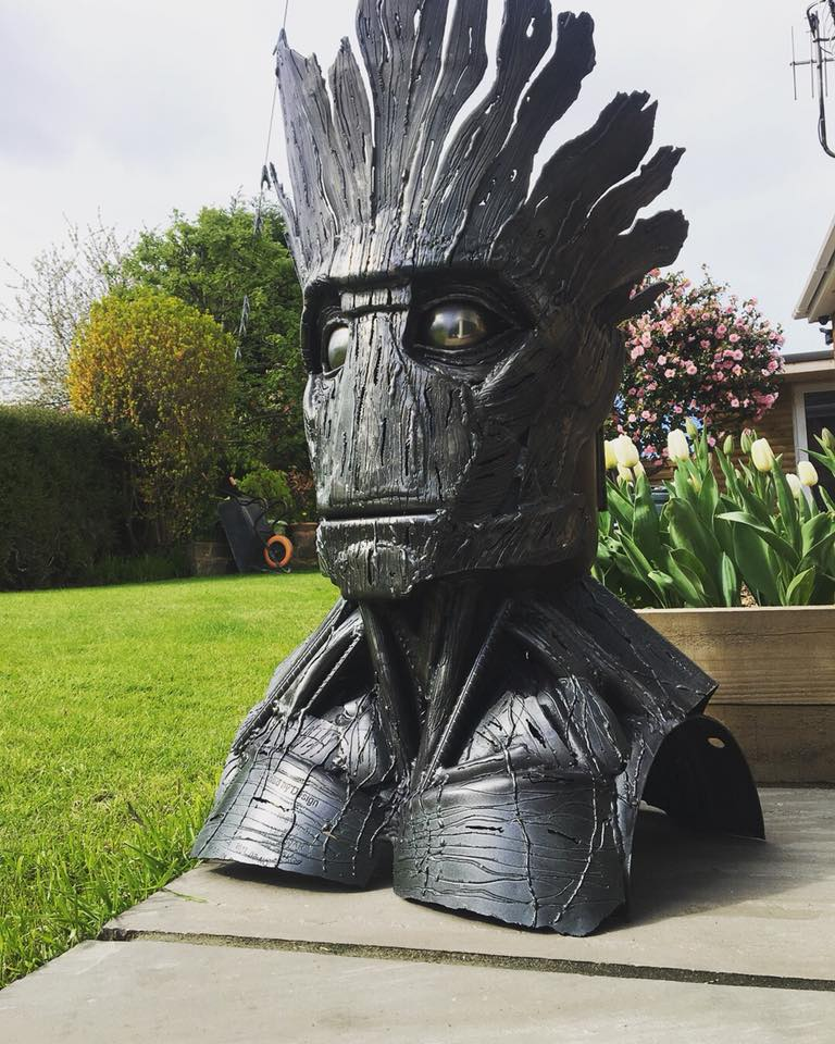 I am Groot Wood Burner