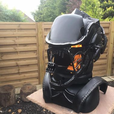 The Alien Xenomorph Wood Burner