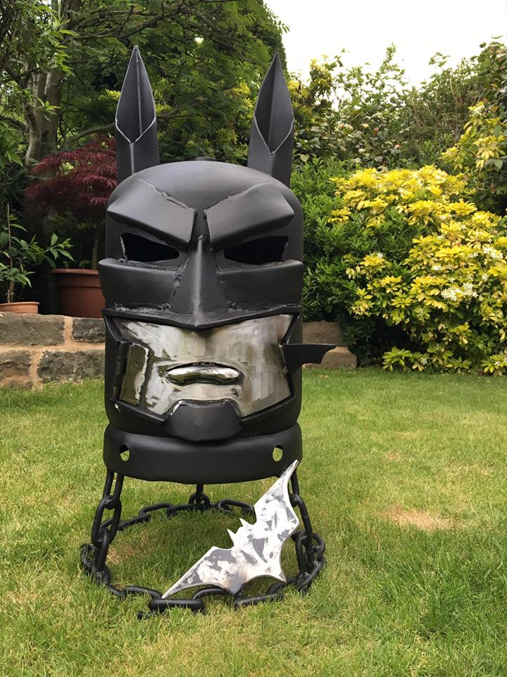 The Batman Wood Burner