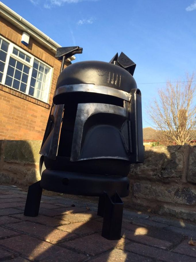 Boba Fett Wood Burner