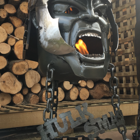 The Hulk 'Thor Ragnarok' themed Wood Burner