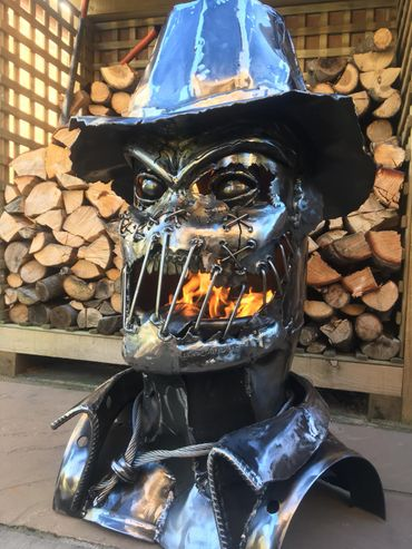 THE SCARECROW WOOD BURNER