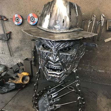 Freddy Krueger Wood Burner & GRILL
