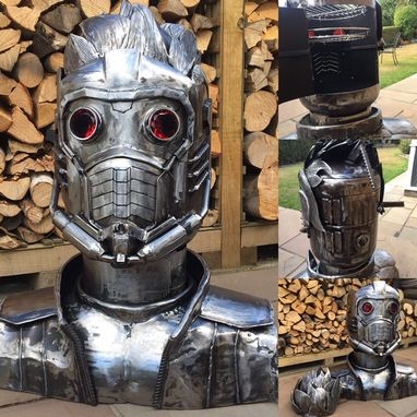 STARLORD DUAL PURPOSE WOOD BURNER AND BBQ