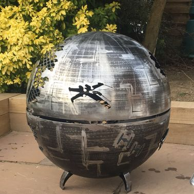 Death Star Wood Burner 800mm