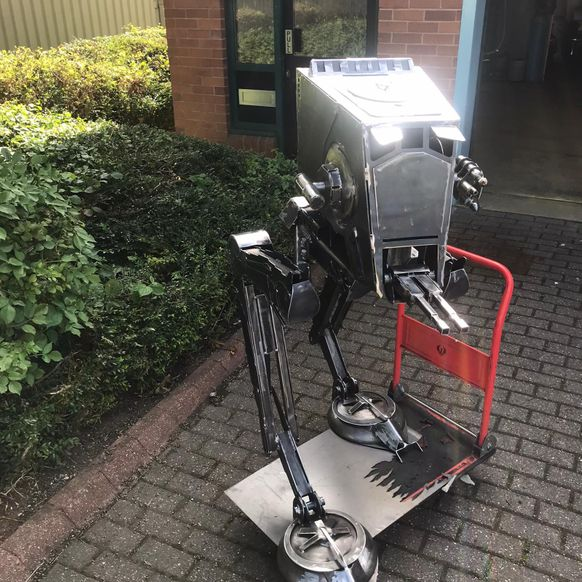 The AT-ST 'Chicken Walker' - Modular - for shipping outside the UK