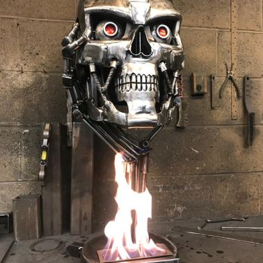 T-800 JUDGEMENT DAY BIO-FLAME BURNER