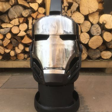 Ironman / War Machine Wood Burner