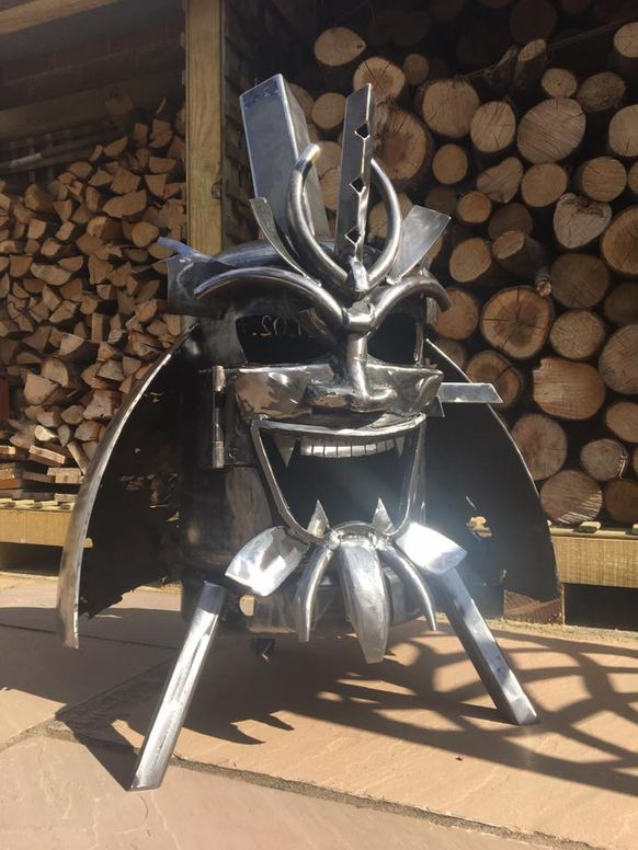 The Samurai Wood Burner