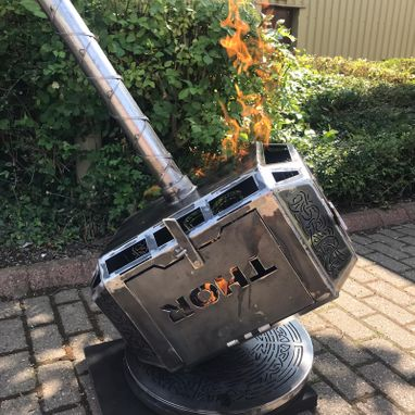 The Hammer of Thor Wood Burner