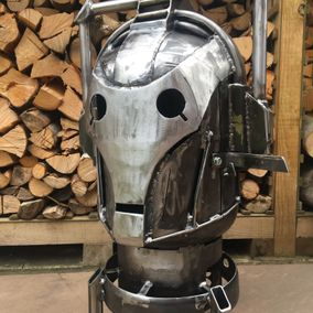 The Cyberman Wood Burner