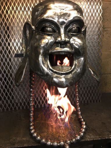 Laughing Buddha Woodburner