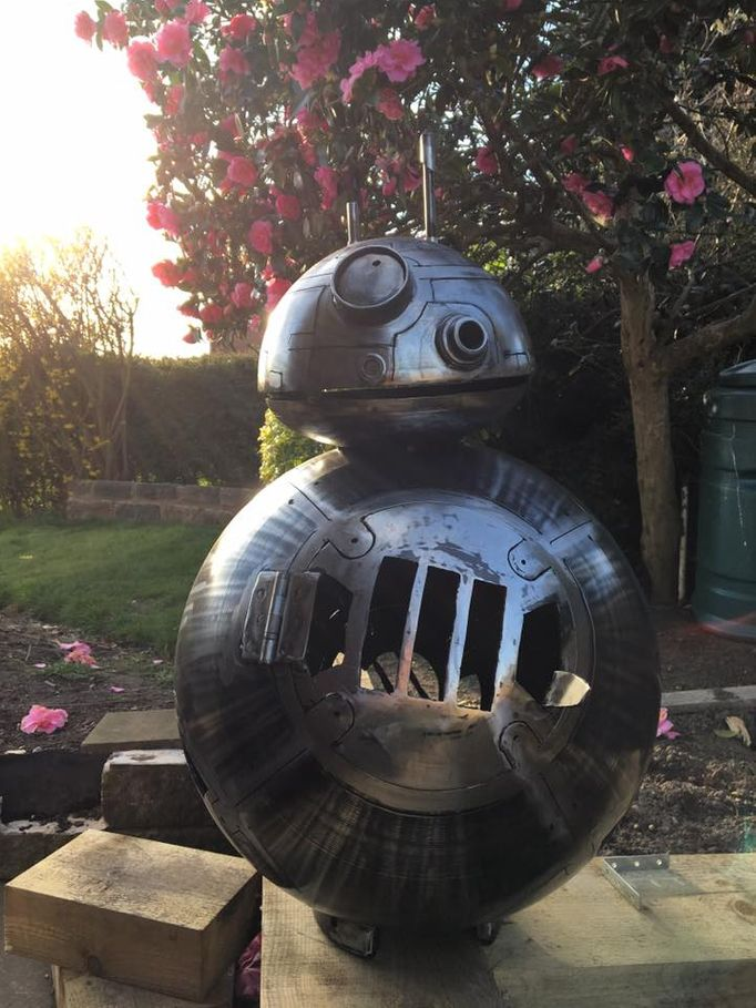 The BB8 Wood Burner