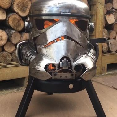 Storm Trooper Wood Burner