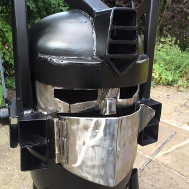 Optimus Prime Wood Burner
