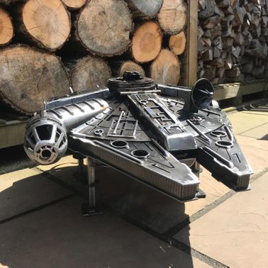 The Millennium Falcon Wood Burner