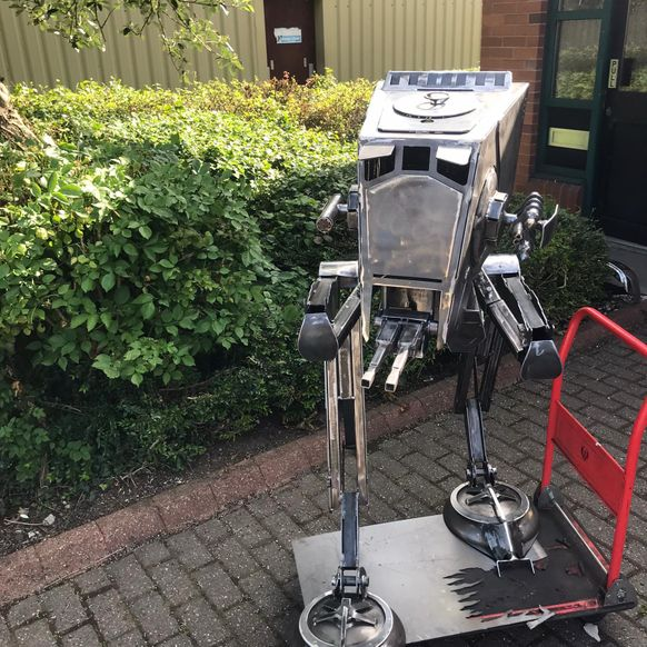 The AT-ST 'Chicken Walker' (UK only)