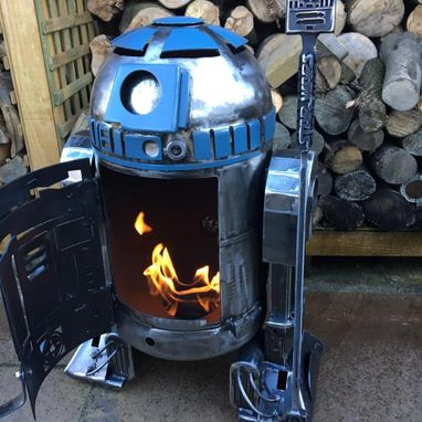 R2D2 THEMED FIRE STALKER