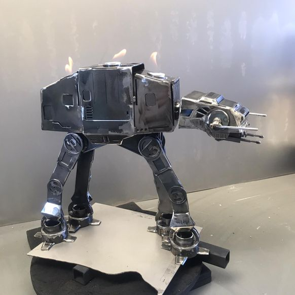 The AT-AT Candlestick