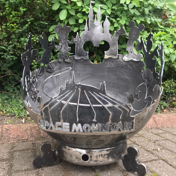 DISNEY THEMED FIRE PIT