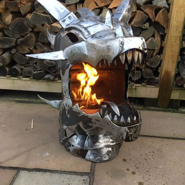 Dragon Wood Burner