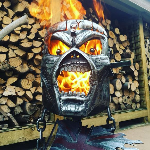 Eddie the Head Wood Burner