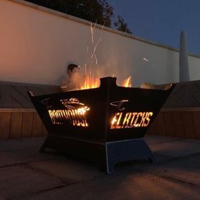 And a Fire Pit to Match? Why not.....